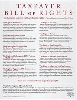 Taypayer's Bill of Rights